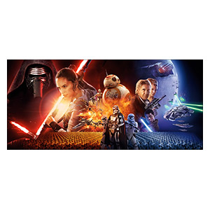 Star Wars. Размер: 130 х 60 см